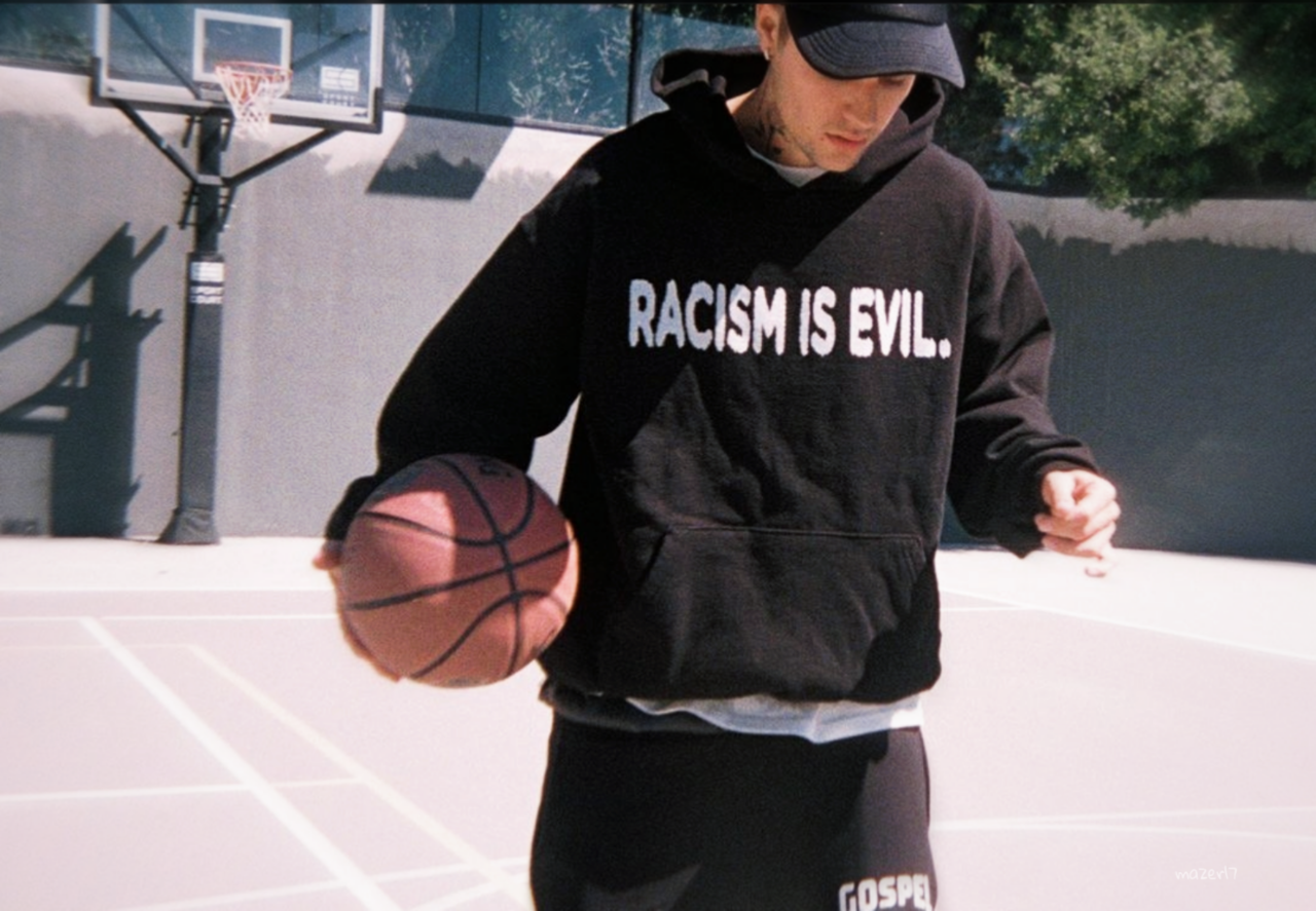 justin bieber, mazer17, and racism is evil image