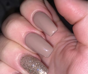 fall, nails, and Nude image