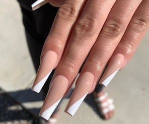 acrylics, nails, and nail inspo image