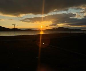 early, sunrise, and Greece image