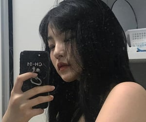 asian girl, edgy, and rp image