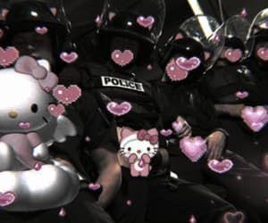 grunge, HelloKitty, and pink image