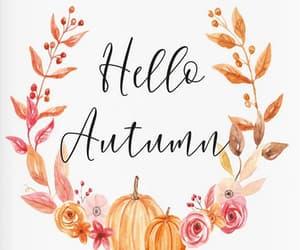 artwork, autumn, and fall image