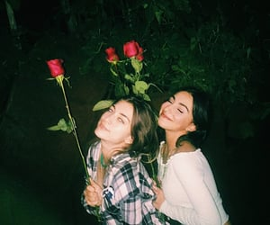 besties, roses, and drunk image