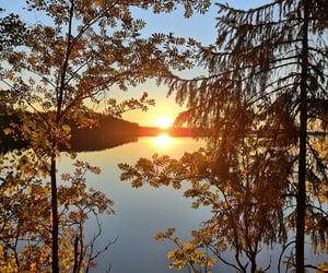 amazing, autumn, and sunset image
