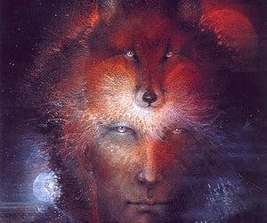mystical, visionary art, and susan seddon boulet image