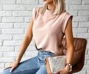 blouse, casual, and dressy image