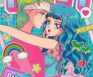 anime, dawn, and fan art image