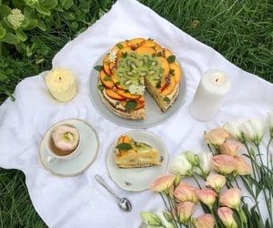 nature, summer, and picnic image