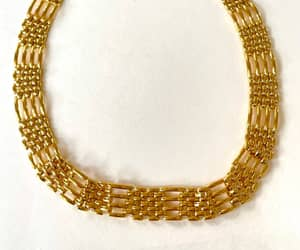 etsy, vintage napier, and chain link necklace image