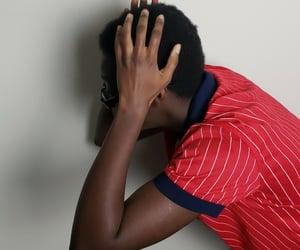 black boy, headshot, and melanin image