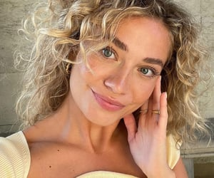 aesthetic, beauty, and curly image