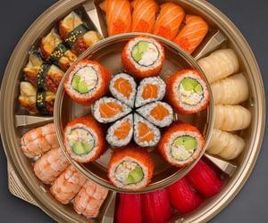 food, sushi, and porn food image