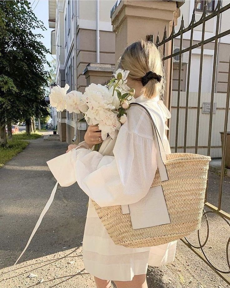 fashion, flowers, and aesthetic image