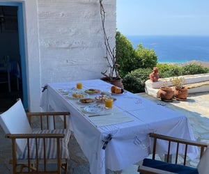 cosy, food, and Greece image