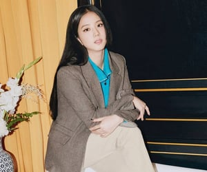 blink, kpop, and kim jisoo image