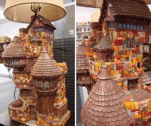 lamp, lamp design, and vintage lamp image