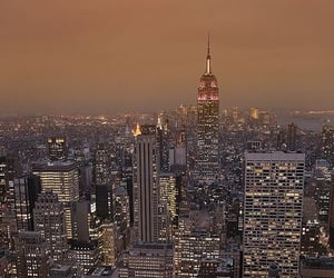 empire state building, manhattan, and nyc image