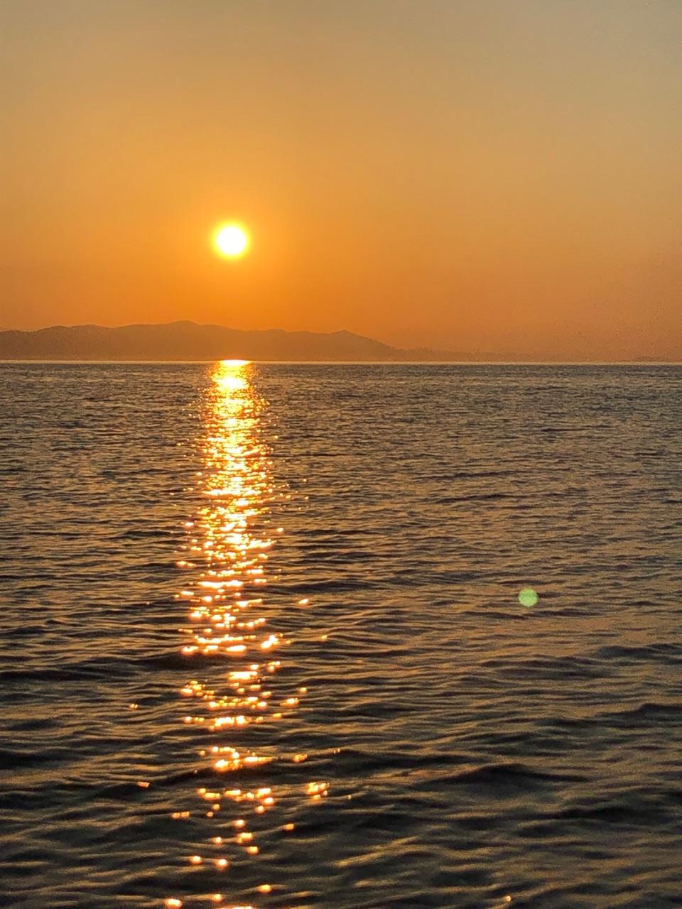 Croatia, Island, and sunset image