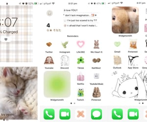 beige, cat, and green image