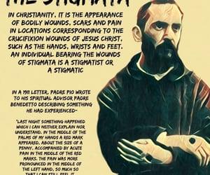 Catholic, saint, and stigmata image