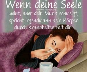 deutsch, krankheit, and seele image