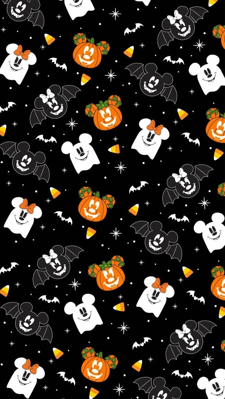background, disney, and Halloween image