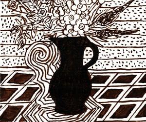 art, flowers, and henri matisse image