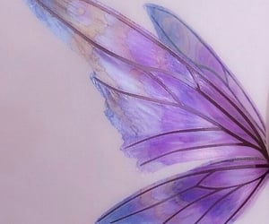 fairy, lavender, and lilac image