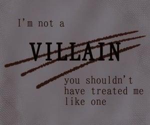 alternative, quote, and villain image