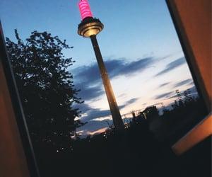 city, boy, and frankfurt image