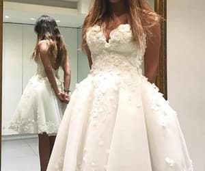 evening dress, fashion, and homecoming dress image
