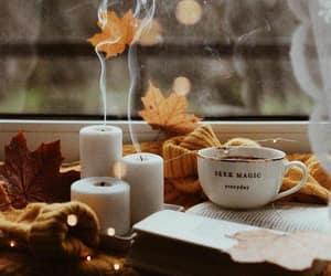 autumn, coffee, and coziness image