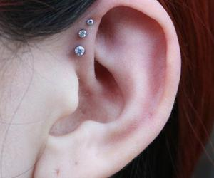 piercing and forward helix image