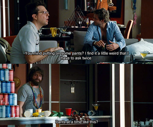 the hangover, funny, and movie image