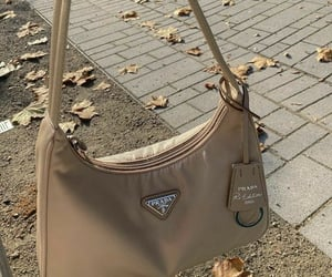 Prada, bag, and beige image