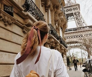 paris, girl, and style image