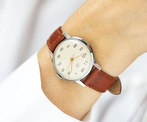etsy, montre femme, and silver women watch image