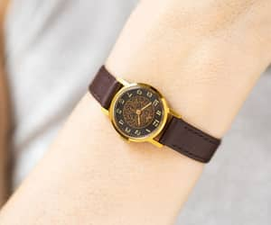 etsy, gold women watch, and wristwatch women image