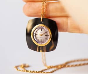 etsy, vintage women watch, and vintage necklace image