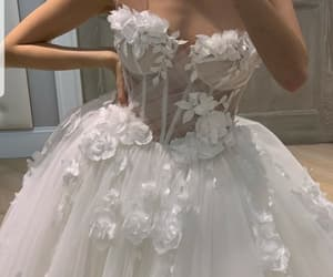 bride and wedding dress image