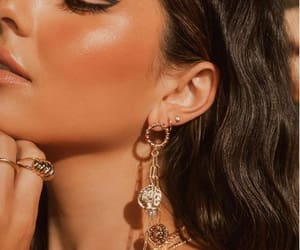 earrings, necklace, and ring image