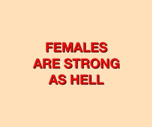 females, strong, and as hell image