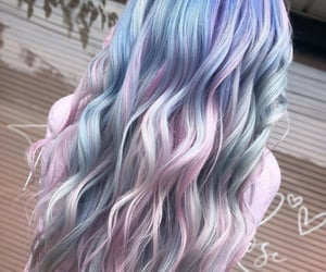 color, cotton candy, and fantasy image