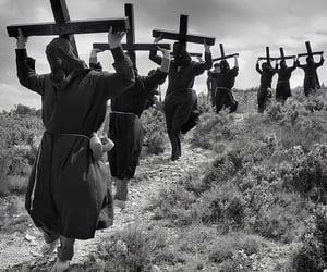 Catholic, cross, and mönch image