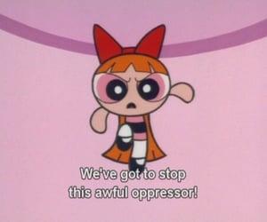 blossom, cartoon, and powerpuff girls image