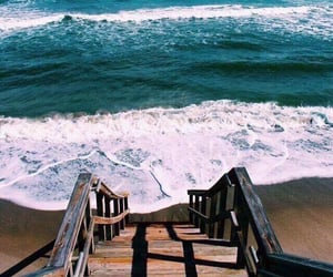 beach, blue sea, and sea view image
