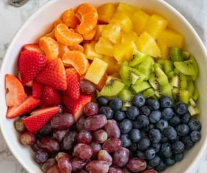 berries, grapes, and healthy image