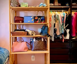 bags, designer, and fashion image