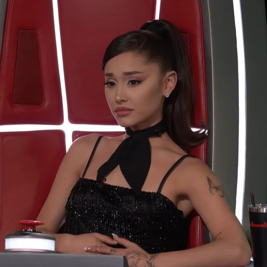 beautiful, ariana grande, and the voice image